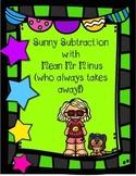 Sunny Subtraction Print n Go Worksheets