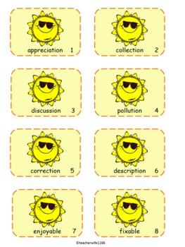 Sunny Suffixes