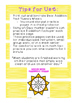 Sunny Sums Math Fact Practice Wheels {+9, +10}
