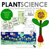 Plants - Writing, Reading, Vocabulary and Crafts - Sunny Sunflower Plant Facts
