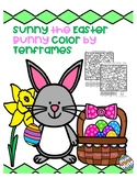 Sunny the Easter  Bunny Color by Tenframes
