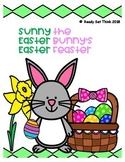 Sunny the Easter Bunny's Easter Feaster (Reading Comprehension)
