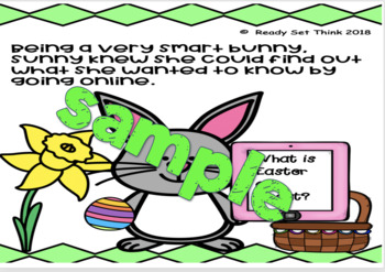 Sunny the Easter Bunny's Easter Feaster (2nd, 3rd ebook - KWL, Venn, Bar, Picto)