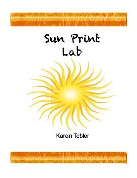 Sunprint lab- the energy of the sun