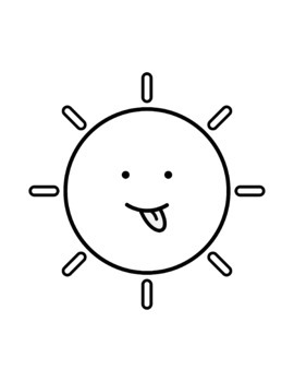 Sun Emotions Clip Art