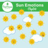 Sun Emotions Clip Art