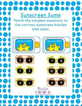 Sunscreen Sums