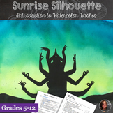 Sunrise Silhouettes - High School Watercolor Lesson