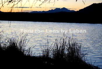 Sunset at the River Stock Photo #159