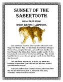 Sunset of the Sabertooth - A Magic Tree House Book - Lapbook