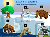 Sunset of the Sabertooth (Book #7) Story Map Discussion Game