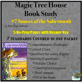 Magic Tree House: Sunset of the Sabertooth Book Study