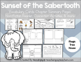 Sunset of the Sabertooth: MTH #7: Centers & Comprehension Activities
