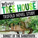 Sunset of the Sabertooth Novel Study Unit - Magic Tree House #7