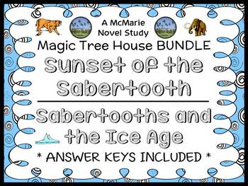 Sunset of the Sabertooth | Sabertooths and the Ice Age : Magic Tree House BUNDLE