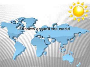 Sunsets Around the World