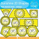 Sunshine 2D Shapes Clipart