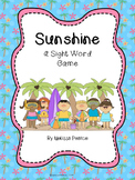 Sunshine: A Kindergarten Sight Word Game