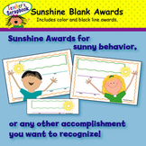 Sunshine Blank Awards