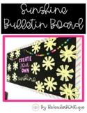 Sunshine Bulletin Board   Growth Mindset Spring Bulletin B
