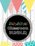 Sunshine Classroom Theme Decor BUNDLE!