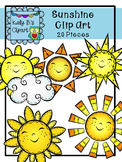 Sunshine Clipart By Kelly B.'s Clipart