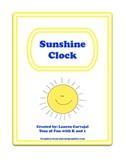 Sunshine Clock Numbers