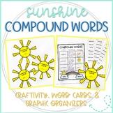Sunshine Compound Words: Craftivity, Word Lists, & Graphic Organizers