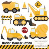 Sunshine Construction Clipart & Vectors