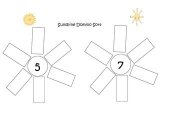 Sunshine Domino Sorting