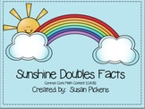 Sunshine Doubles Facts (Common Core Aligned)