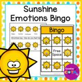 Summer Sunshine Activity Emotion Bingo