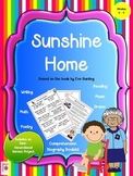 Sunshine Home by Eve Bunting Literature Unit