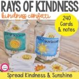 Sunshine Kindness Confetti - Watercolor Version