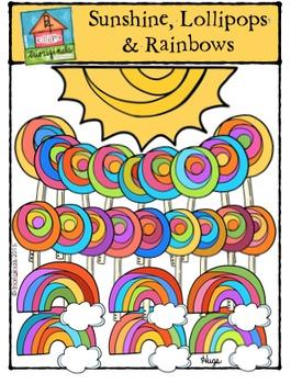 Sunshine, Lollipops and Rainbows {P4 Clips Trioriginals Di