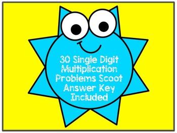 Sunshine Multiplication Facts