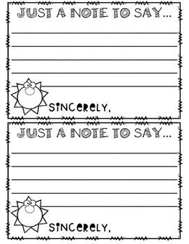 Sunshine Note