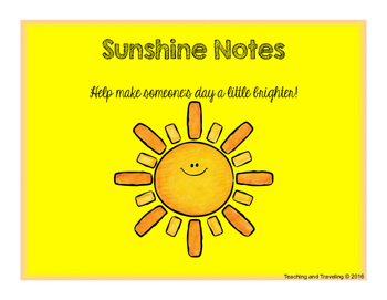 Communication with Parents - Sunshine Notes