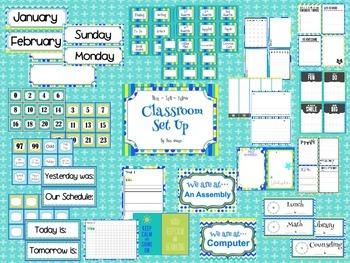 Sunshine & Owls Classroom Set Up