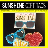 Gift Tags and Valentine Cards: Sunshine
