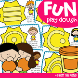 Play Doh Mats for Little Learners {Fine Motor Activities}