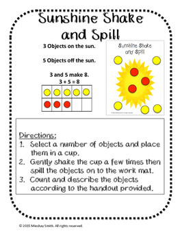 Sunshine Shake and Spill