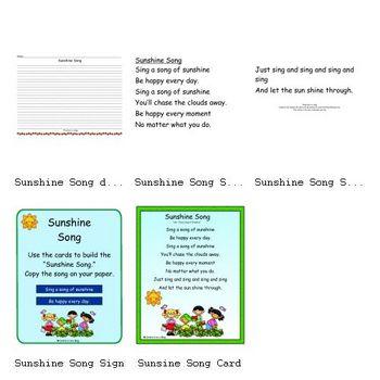 Sunshine Song