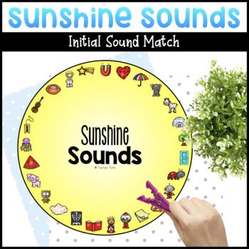 Sunshine Sounds | Letter Sound Matching Activity