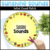 Sunshine Sounds   Letter Sound Matching Activity