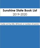 Sunshine State Book Spreadsheet 2019-2020 All Grades