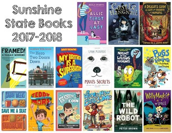 Sunshine State Books 2017-2018 Poster