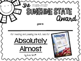2016-2017 Sunshine State Young Readers Award (SSYRA) Book
