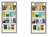 Sunshine State Young Readers Award Books Bookmark (SSYRA)