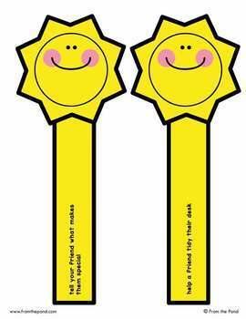 Sunshine Sticks - A Kindness Brain Break Activity